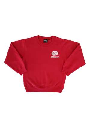 Masterton Intermediate Crew Sweat Red