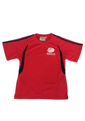 Masterton Intermediate PE Tee Red/Navy